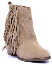 Fashion Lab - Joseph Fringe Detail Heel Boot