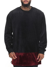 Sweatshirts & Sweaters - All Night Velour Sweatshirt (B&T)