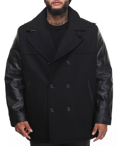 Sean John Black Heavy Coats