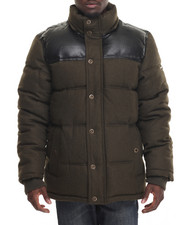 Outerwear - Wool Bubble Jacket