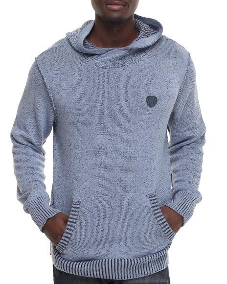 Parish - Men Blue Hoody Sweater