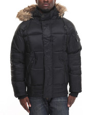 Outerwear - Bubble Jacket w/ Hood