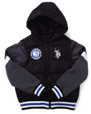 Boys - BUBBLE VARSITY JACKET (8-20)