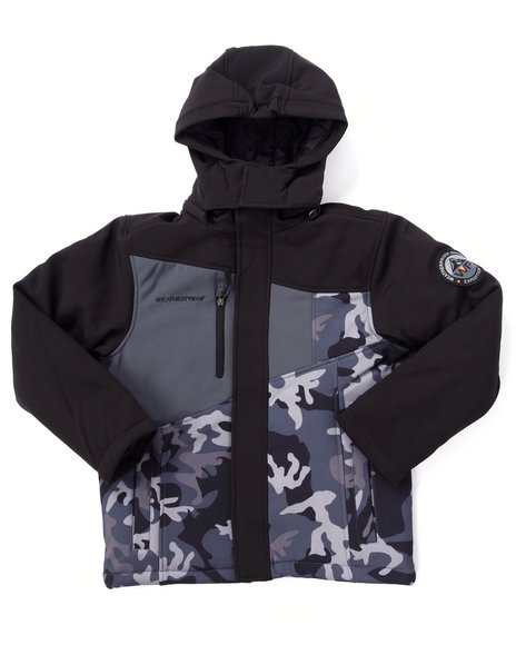 Weatherproof Black Heavy Coats