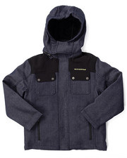 Heavy Coats - SYSTEMS SOFTSHELL W/ BUBBBLE INNER JACKET (8-20)