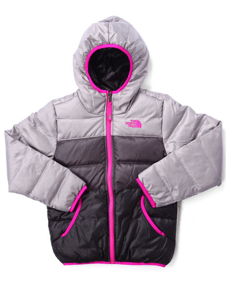 The North Face - Girls Silver Reversible Moondoggy Jacket (4-16) - $91.99