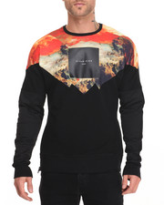 Men - Molten Lava Crewneck Sweatshirt