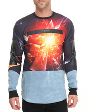 Shirts - Hybrid Prism Burst L/S Tee