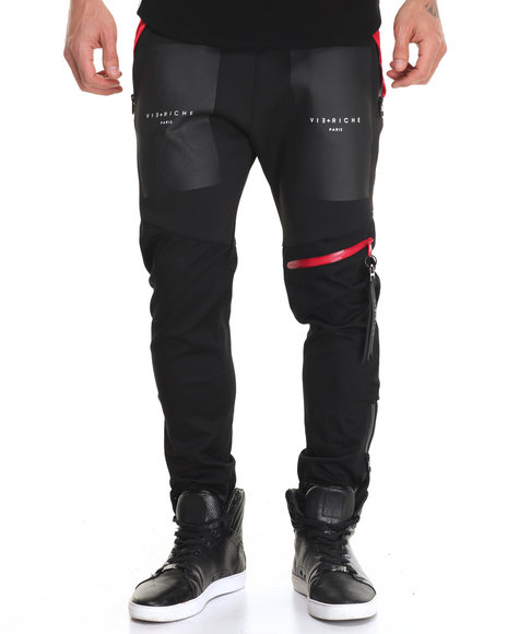 Vie + Riche - Men Black Box Logo Joggers