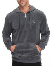 Men - Velour Hoody