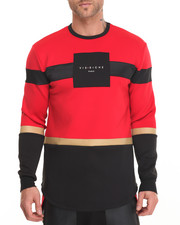 Men - Satin Stripe L/S Tee