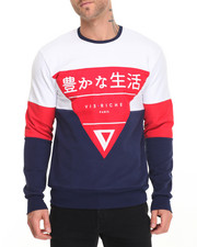 Men - Tri Angled Crewneck Sweatshirt