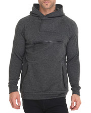 Men - Tech Knit Shawl - Neck Hoodie