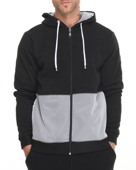 Black,White Hoodies
