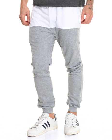 Buyers Picks Grey,White Sweatpants
