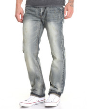 Men - Ripped Vintage Wash Jean