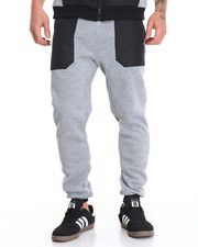Men - Nylon Quilted Jogger