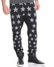 Men - All Over Star Print Jogger