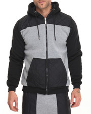 Buyers Picks - Faux Sherling Nylon Quilted Hoody