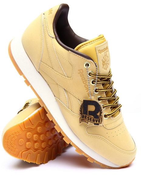 Reebok - Men Wheat Classic Leather W P