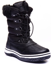 Fashion Lab - Slopes Faux Fur Weather Boot