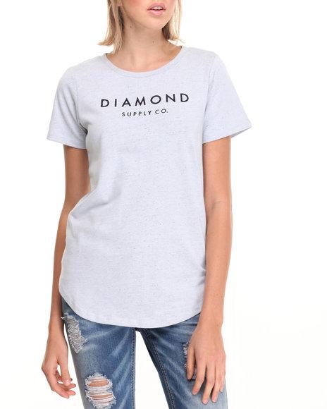 Diamond Supply Co Grey Tees