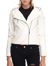 Rocawear - Vegan Leather Biker Jacket