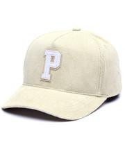 Hats - P CORDUROY SNAPBACK