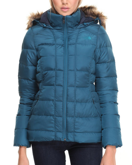 The North Face - Women Teal Women's Gotham Jacket