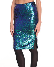 Women - Sequin Skirt