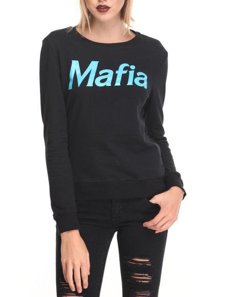 Cupcake Mafia Black Sweatshirts