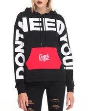 Hoodies - I Dont Need You Hoodie