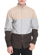 Buyers Picks - R - Sole Oxford / Poplin L/S Button - Down