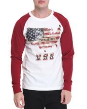 Shirts - Americana Print Raglan