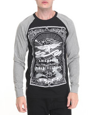 Men - Patriotism Print Raglan