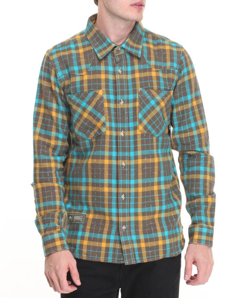 Lrg Green Button-Downs