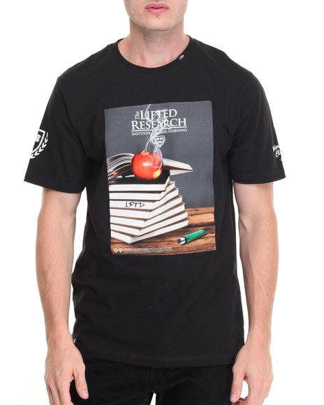 Lrg Men Higher Learning T-Shirt Black Large