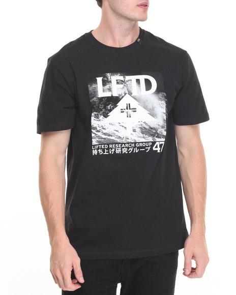 Lrg - Men Black 47Th Icon T-Shirt - $16.99
