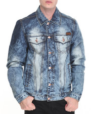 Outerwear - Washed Denim Jacket