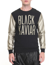 Men - Black Kaviar Sweatshirt