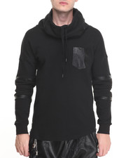 Men - Black Kaviar Hooded Sweatshirt