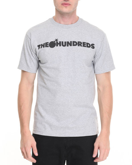 The Hundreds Grey T-Shirts