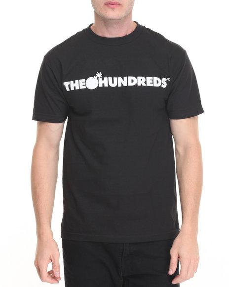 The Hundreds - Men Black Forever Bar Logo Tee