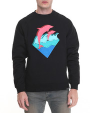 Sweatshirts & Sweaters - WAVES DEPTH CREWNECK SWEATSHIRT