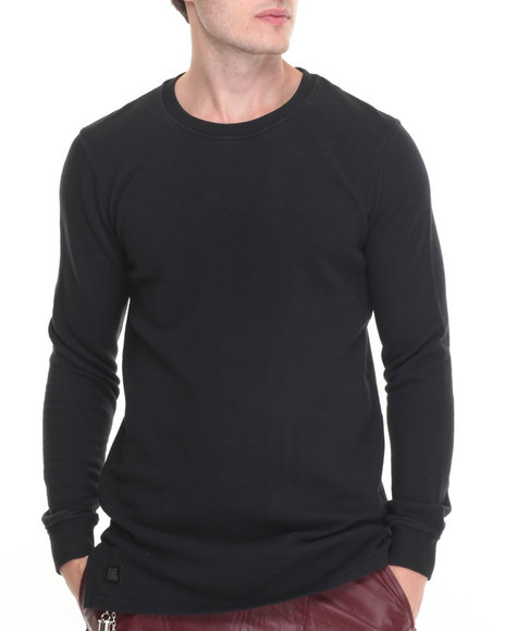 Black Kaviar - Men Black Altuzaro L/S T-Shirt