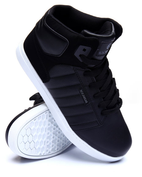 Rocawear - Men Black,Grey Fuse 2 Sneakers