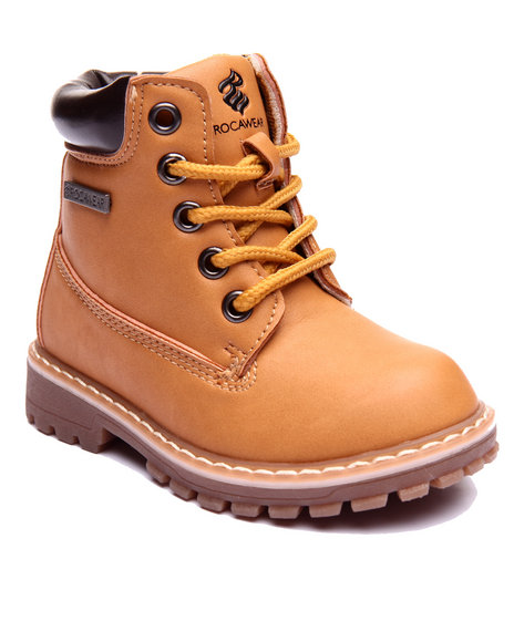 Rocawear Boys Steve Boots (510) Wheat 6 Toddler