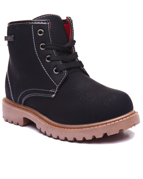 Rocawear - Girls Black Hiker Boots (11-3)