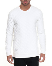 Two Angle Clothing - Socrew Quilted Sweatshirt