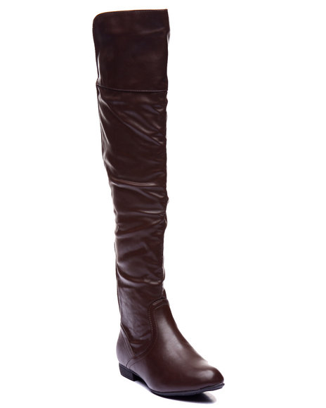 Basic Essentials - Women Brown Lang High Boot